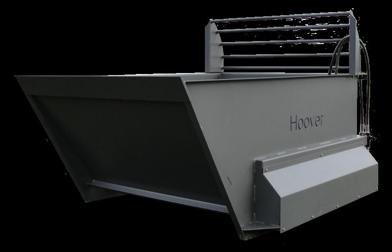 Hoover Bale Shredder