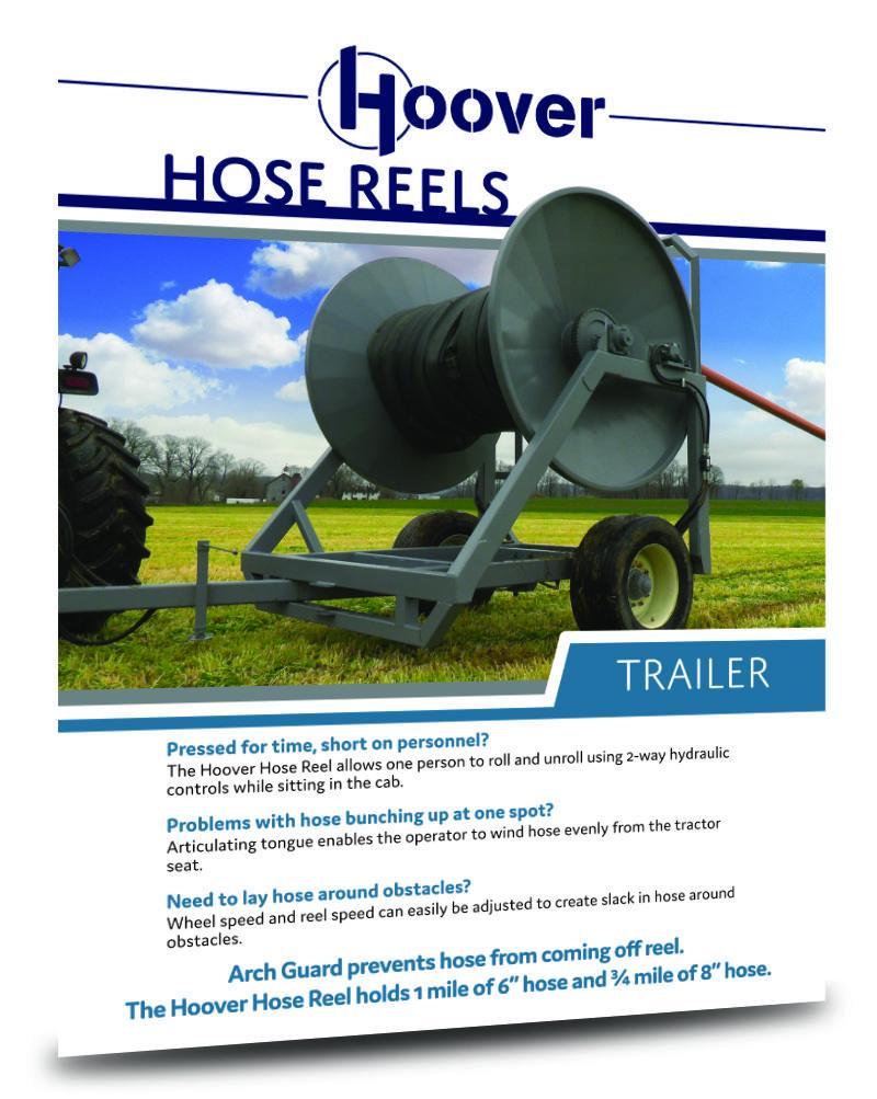 Hoover Ag Hose Reel Sell Sheet